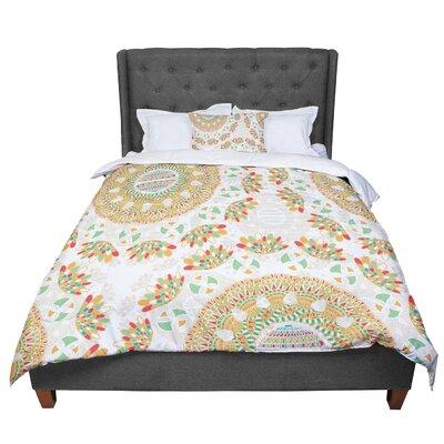 Miranda Mol Bohemian Bright Geometric Comforter Size: Queen