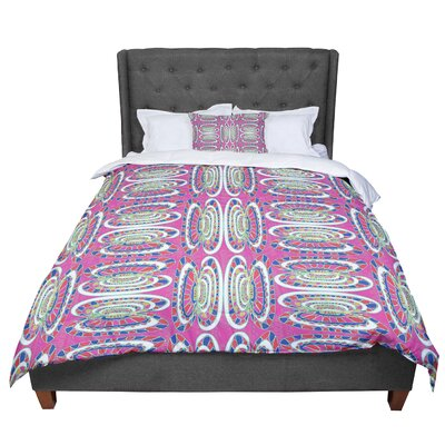 Miranda Mol Bohemian Wild Abstract Comforter Size: Twin