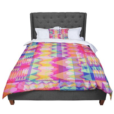 Miranda Mol Triangle Fun Comforter Size: Queen