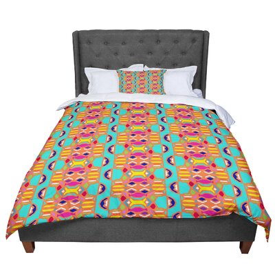 Miranda Mol Summer Fun Treal Comforter Size: Queen