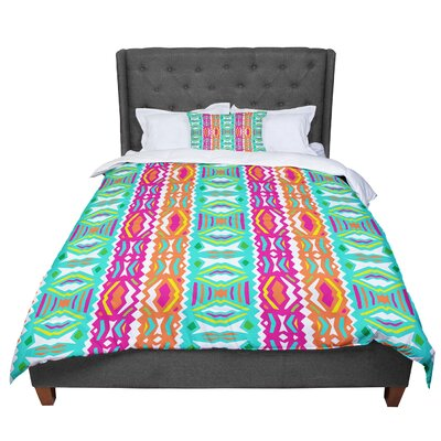 Miranda Mol Ethnic Summer Comforter Size: Queen