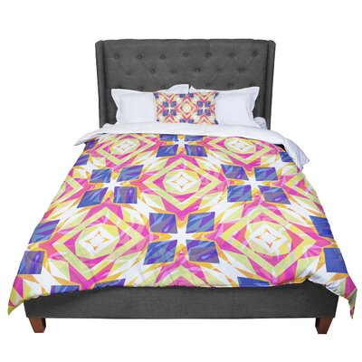 Miranda Mol Dancing Tiles Comforter Size: Twin