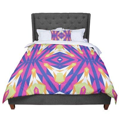 Miranda Mol Tulip Tribal Comforter Size: Queen