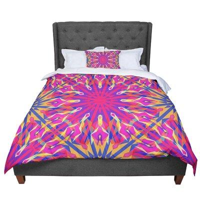 Miranda Mol Whirling Comforter Size: King