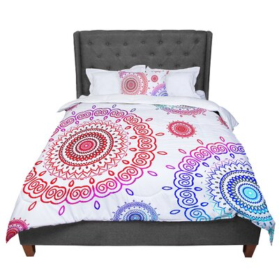 Monika Strigel Infinity Comforter Size: Queen