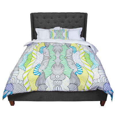 Monika Strigel Wormland Comforter Size: King