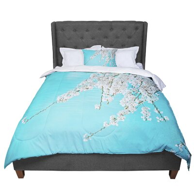 Monika Strigel Hanami Comforter Size: Queen