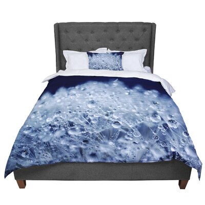 Monika Strigel Dandelion Diamonds Comforter Size: Twin, Color: Navy/Blue