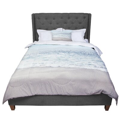 Monika Strigel the Sea Coastal Comforter Size: Queen
