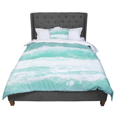 Monika Strigel Maui Waves Comforter Size: Queen