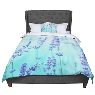 Monika Strigel Lavender Comforter Size: Queen