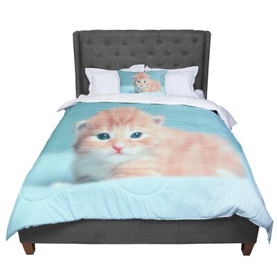 Monika Strigel Dreamcat Comforter Size: King