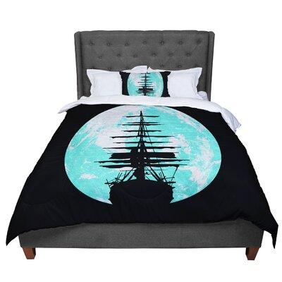 Micah Sager Voyage Comforter Size: King