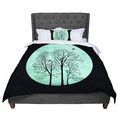 Micah Sager Perch Circle Comforter Size: Twin