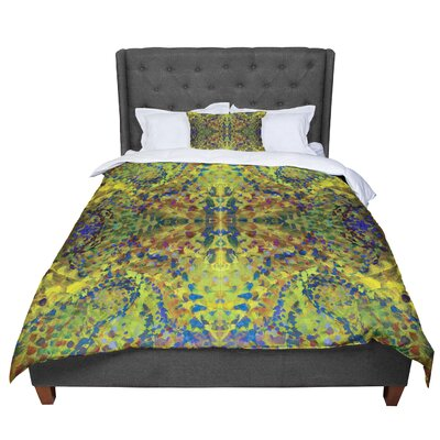 Nikposium Jacket Abstract Comforter Size: Queen