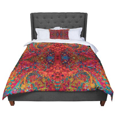 Nikposium Sea Abstract Comforter Size: Queen