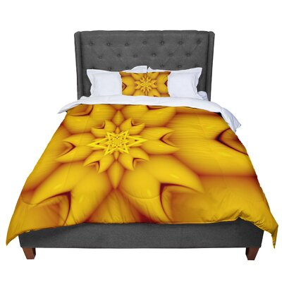 Michael Sussna Citrus Star Comforter Size: King