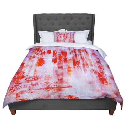 Malia Shields Painted Cityscape Comforter Size: Queen