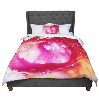 Malia Shields the River II Comforter Size: King