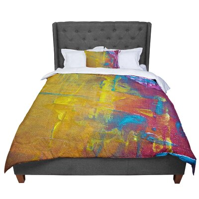 Malia Shields Cityscape Abstracts III Comforter Size: King