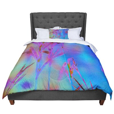 Malia Shields Painterly Foliage Series 2 Comforter Size: Queen
