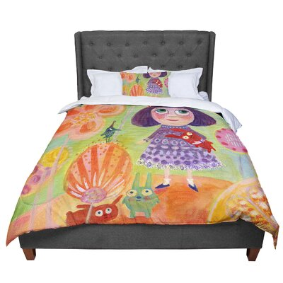 Marianna Tankelevich Flowerland Comforter Size: King