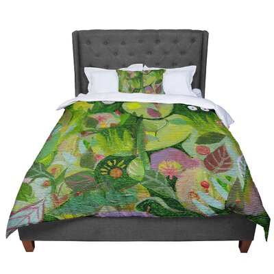 Marianna Tankelevich Jungle Comforter Size: Queen