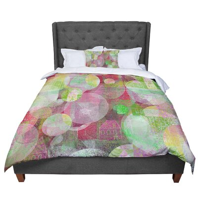 Marianna Tankelevich Dream Place Comforter Size: Twin, Color: Pink/Green