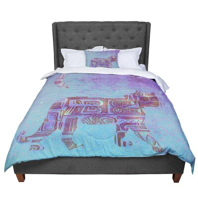 Marianna Tankelevich Panther at Night Comforter Size: Queen