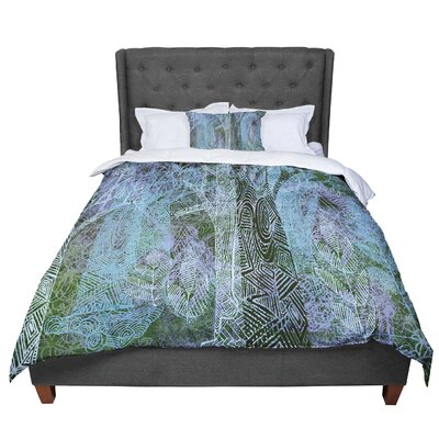 Marianna Tankelevich Wild Forest Trees Comforter Size: Queen