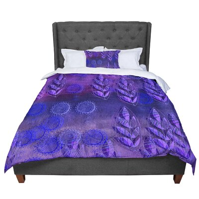 Marianna Tankelevich Summer Night Comforter Size: Twin, Color: Purple/Lavender