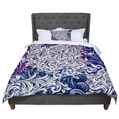 Nick Atkinson Celtic Floral I Comforter Size: Twin