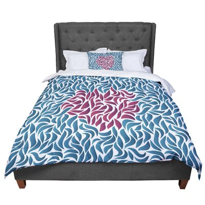 Nick Atkinson Desire Comforter Size: Queen