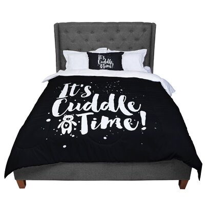 Nick Atkinson Cuddle Time Comforter Size: Twin