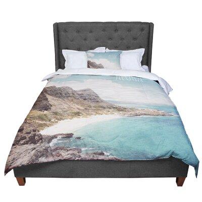 Nastasia Cook Aloha Mountain Beach Comforter Size: Twin