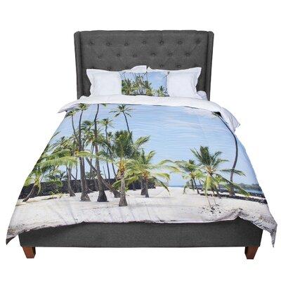 Nastasia Cook Paradisiac Coastal Nature Comforter Size: Twin