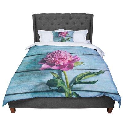 Nastasia Cook Peonie Comforter Size: Queen