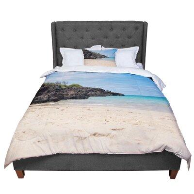 Nastasia Cook Hapuna Beach Comforter Size: Queen