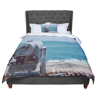 Nastasia Cook Ocean View Coastal Comforter Size: King