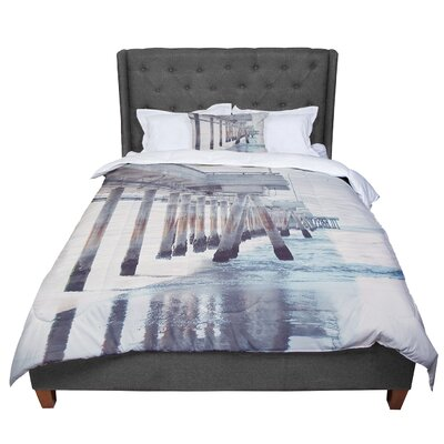 Nastasia Cook the Pier Comforter Size: Queen
