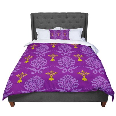 Nicole Ketchum Crowns Comforter Size: Twin