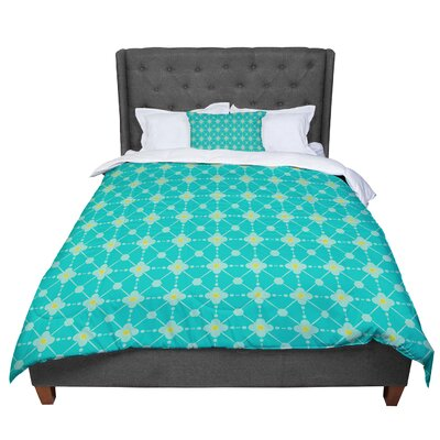 Nicole Ketchum Hive Blooms Comforter Size: Twin