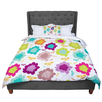 Nicole Ketchum Bee Highway Comforter Size: King