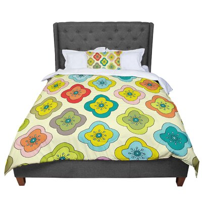 Nicole Ketchum Forest Bloom Comforter Size: Twin
