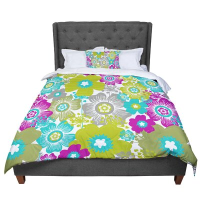 Nicole Ketchum Little Bloom Comforter Size: King