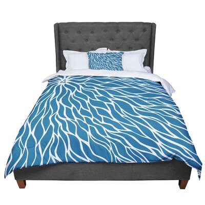 Designs Swirls Comforter Size: Twin