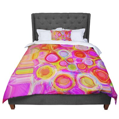 Nina May Spring Comforter Size: Queen