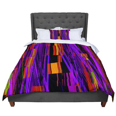 Nina May Threads Comforter Size: King