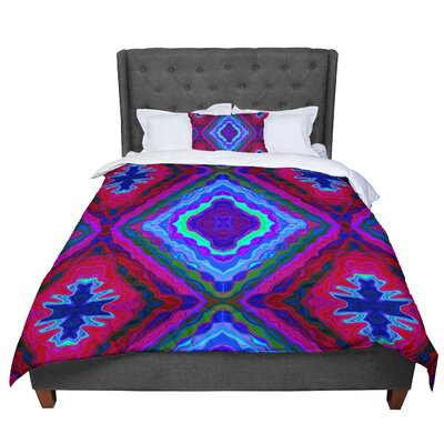 Nina May Kilim Comforter Size: King