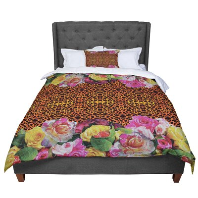 Nina May New Rose Eleo Comforter Size: Queen